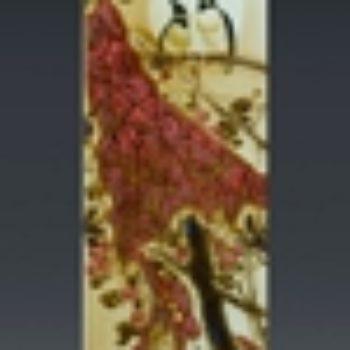 杨天宇陶瓷作品1 双栖图