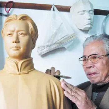 """戴松林:中国毛泽东塑像第一人湾田谈""""危机"""""""