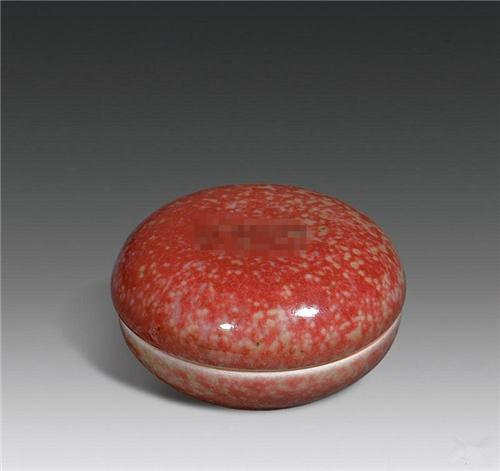 豇豆红釉的介绍
