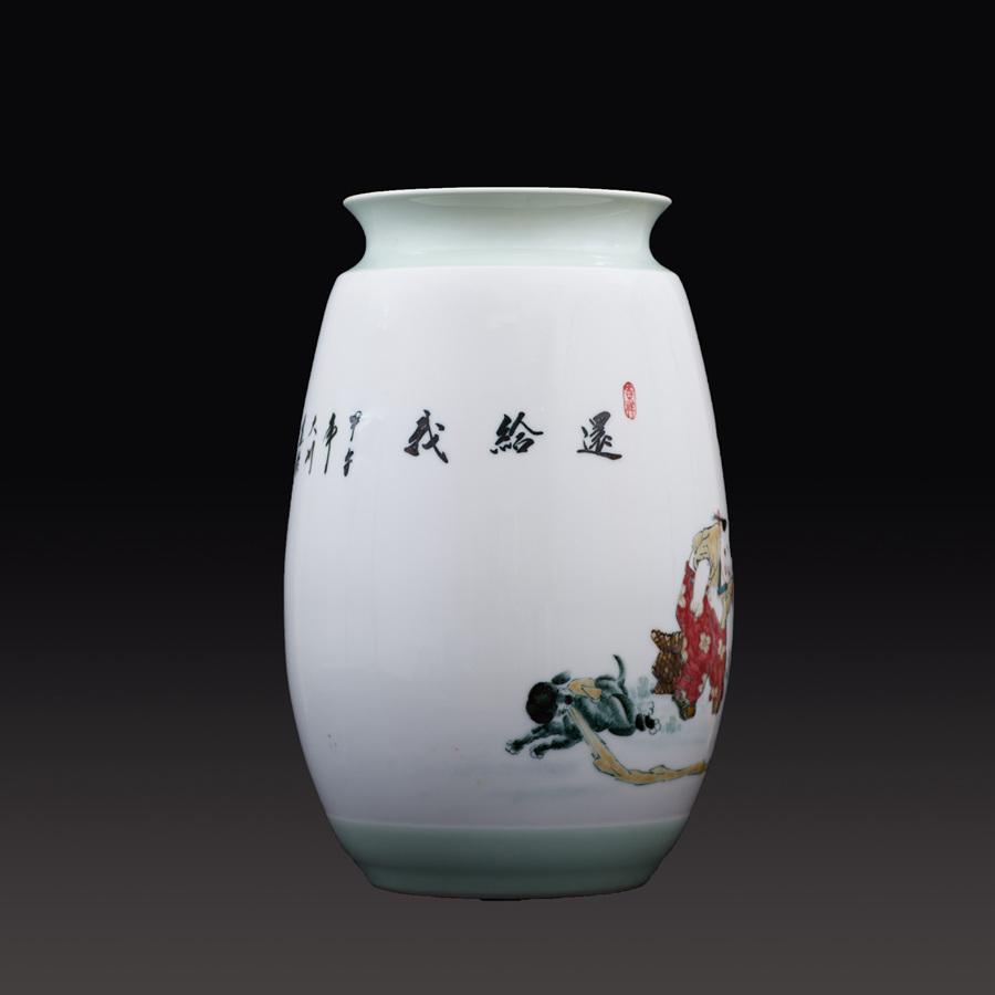 江西省工艺美术师杨大川陶瓷作品高温窑变 还给我瓷瓶