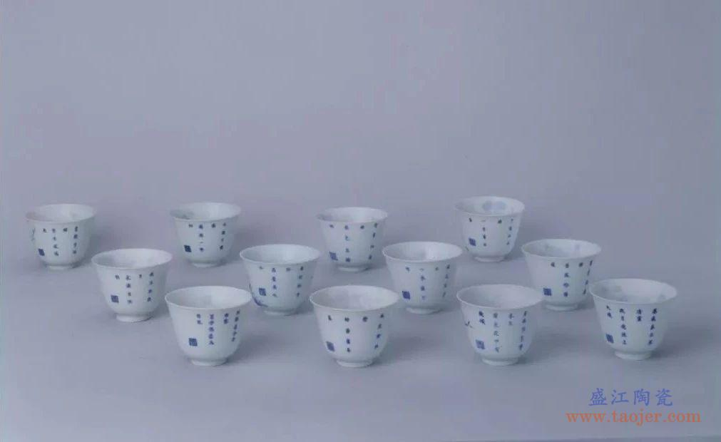 涨姿势:康熙十二花神杯,风雅之极!