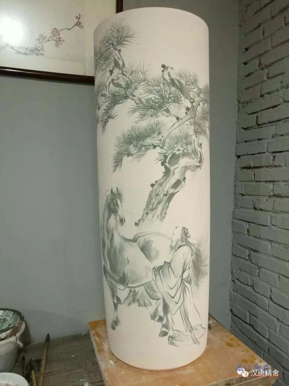 [顾马闲情] 顾马画瓷的玩趣
