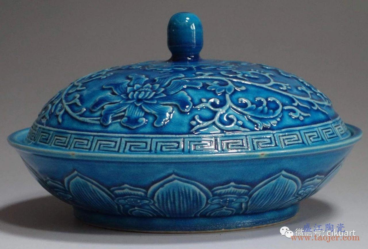 颜色釉瓷器之蓝色釉瓷器