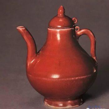 那些价值连城的颜色釉瓷器 红釉