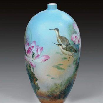 每一件高温颜色釉瓷器都是孤品,绝品!