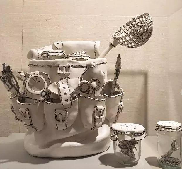 第一次见这样的陶瓷,有创意