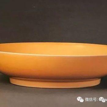 价值连城的颜色釉瓷器 黄釉