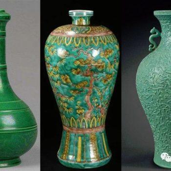 颜色釉瓷器中的绿色釉瓷器