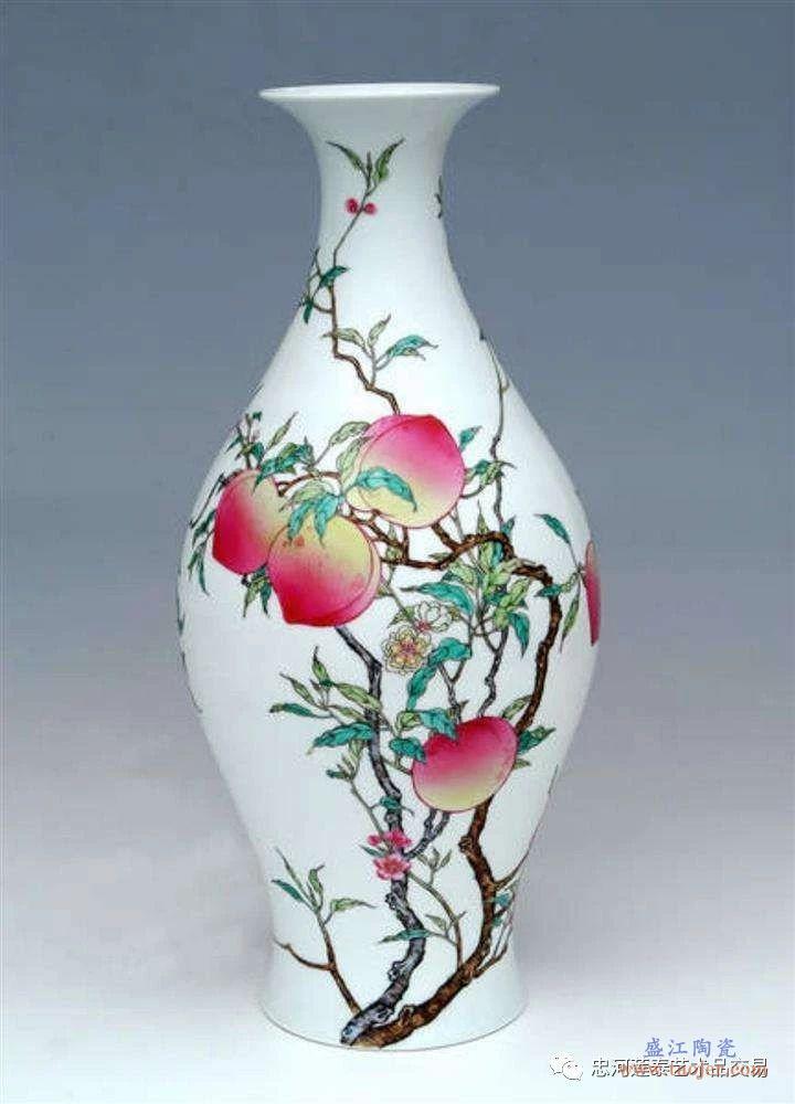 粉彩瓷器的出现与发展