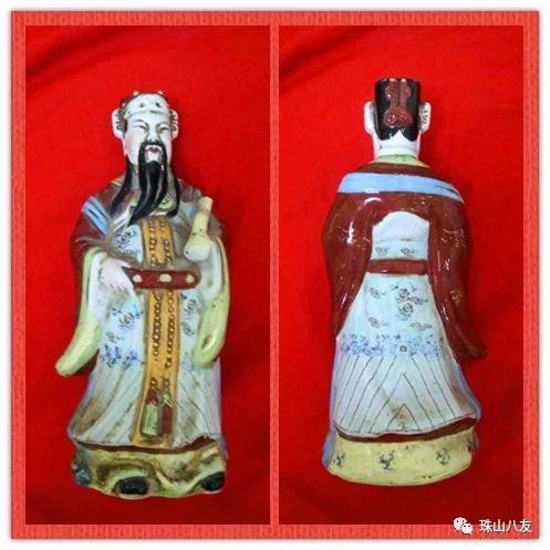 精品赏析—福禄寿三星雕塑瓷