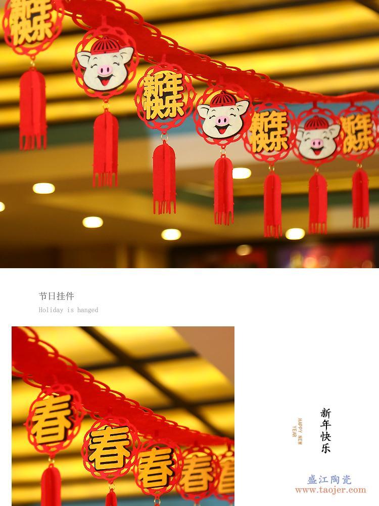 景德镇陶瓷花瓶摆件仿古官窑青花瓷花瓶裂纹釉葫芦古典家居装饰品-576708347370
