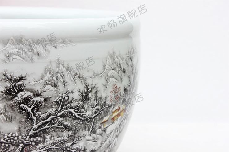 欢畅景德镇花瓶摆件 客厅 装饰品三件套台式花瓶陶艺小花瓶sy10-3743218990