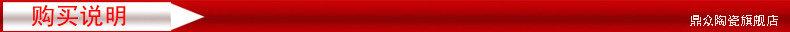 景德镇陶瓷器 中国红色福寿图葫芦落地大花瓶 客厅装饰工艺品摆件-40636832460
