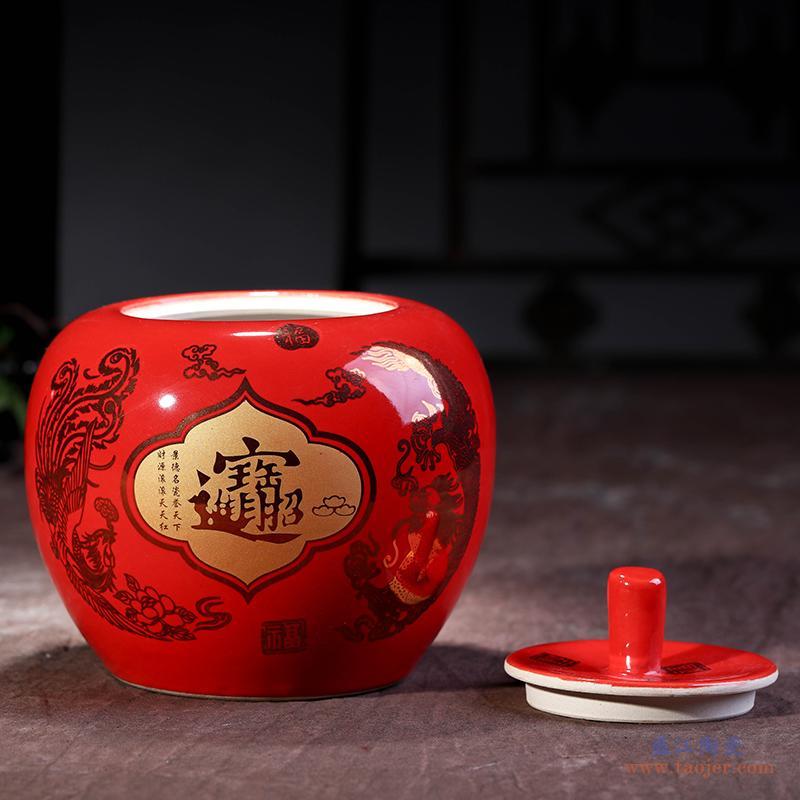 景德镇陶瓷器 青花玲珑骨瓷薄胎小花瓶 古典现代中式客厅餐桌摆件-12559234404