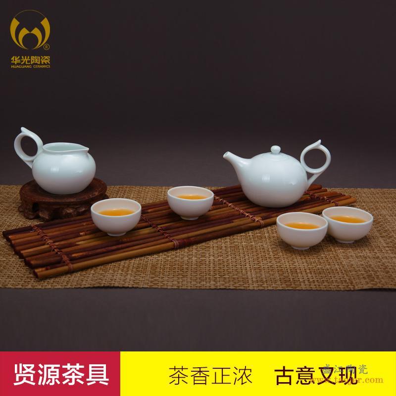 华青瓷 大作坊 青之梅茶具套装 功夫茶具 华光陶瓷茶具组合-38111122289