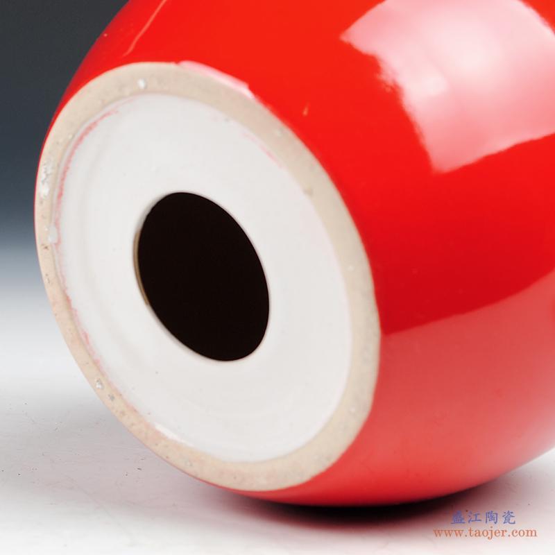 景德镇陶瓷器 青花瓷水浅大金鱼缸乌龟缸睡莲水仙花盆摆件 大号-19111857336