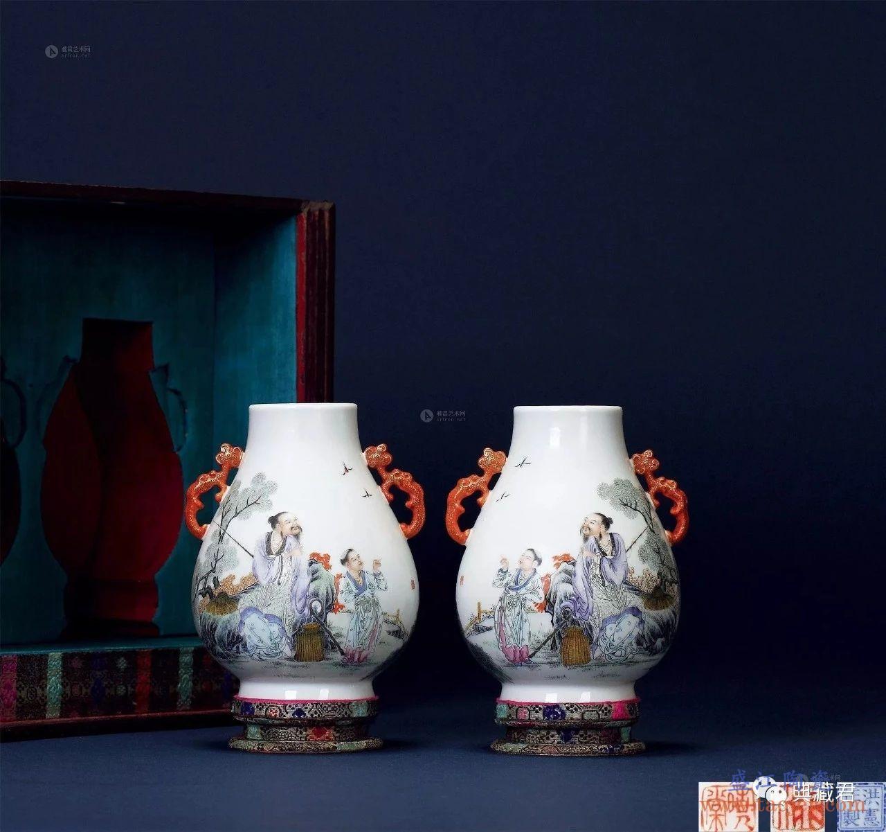 到底新粉彩瓷器和浅绛彩瓷器的区别是什么?