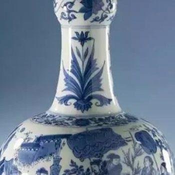 动乱的明崇祯时期,却有如此清丽的青花瓷