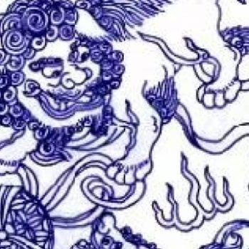 周末悦读   青花瓷传统纹样及寓意大全