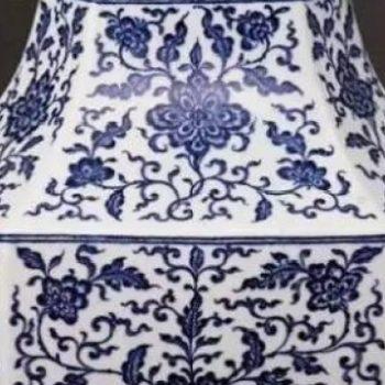 明清青花瓷器精品图片欣赏