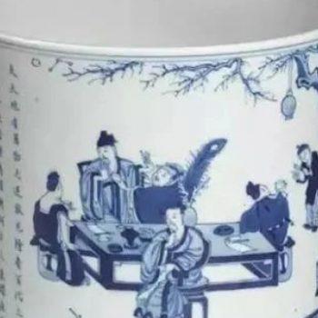 玩瓷器这么些年,青花瓷器上的典故,你读懂了吗?