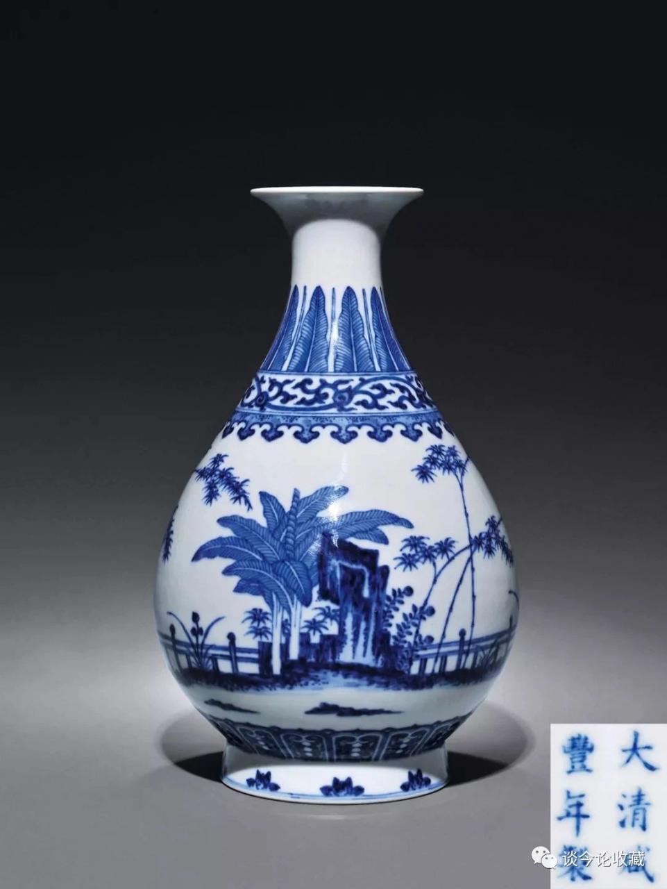 清朝青花瓷器赏析