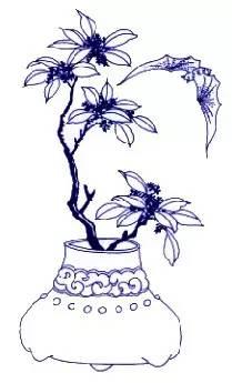 周末悦读 | 青花瓷传统纹样及寓意大全