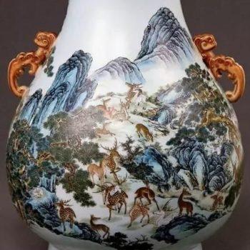 有关乾隆粉彩的六大特征,精品明清官窑可送北京保利北京翰海