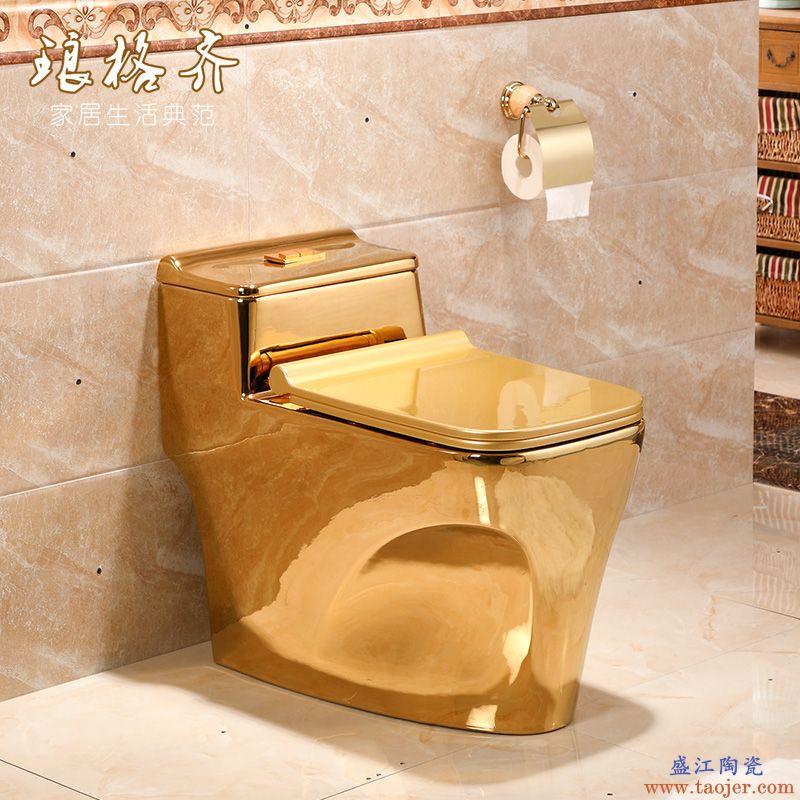 卫浴普通坐便器节水家用大马桶陶瓷卫生间虹吸式静音座便器