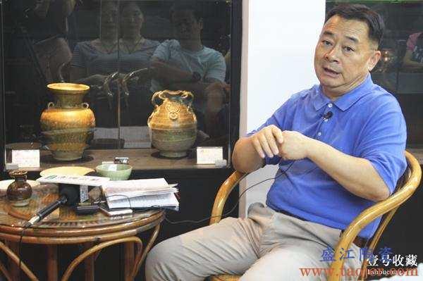 """""""中国古董陶瓷概要第三讲晋唐陶瓷""""讲座在川博物馆开讲"""