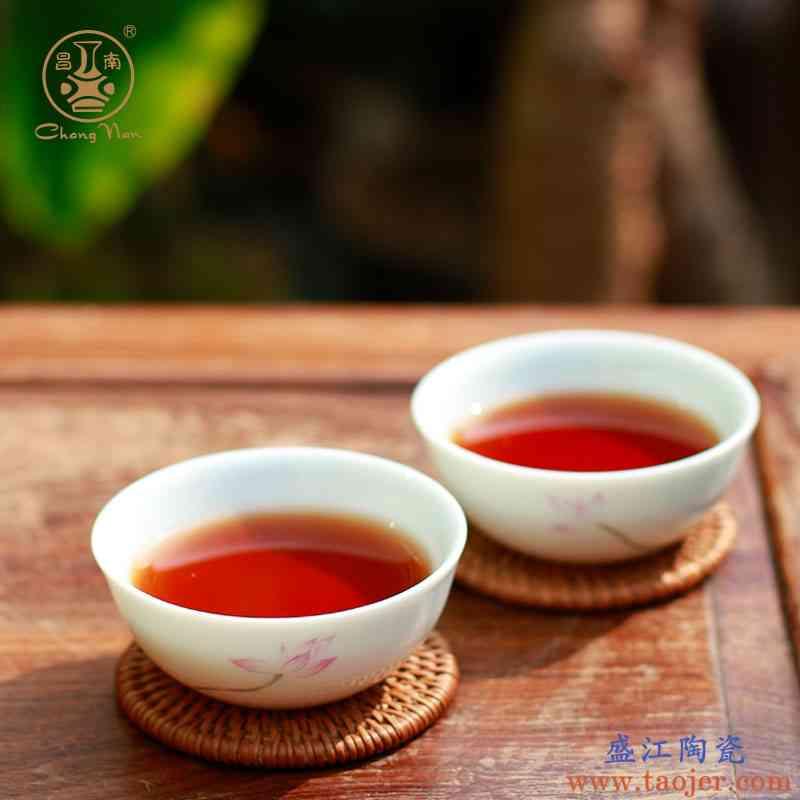 昌南陶瓷功夫茶具小茶杯个人单杯景德镇手绘品茗杯普洱杯 主人杯
