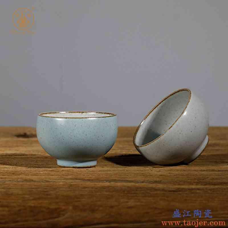 昌南功夫茶杯品茗杯个人杯景德镇陶瓷大号杯茶碗主人杯陶器普洱杯