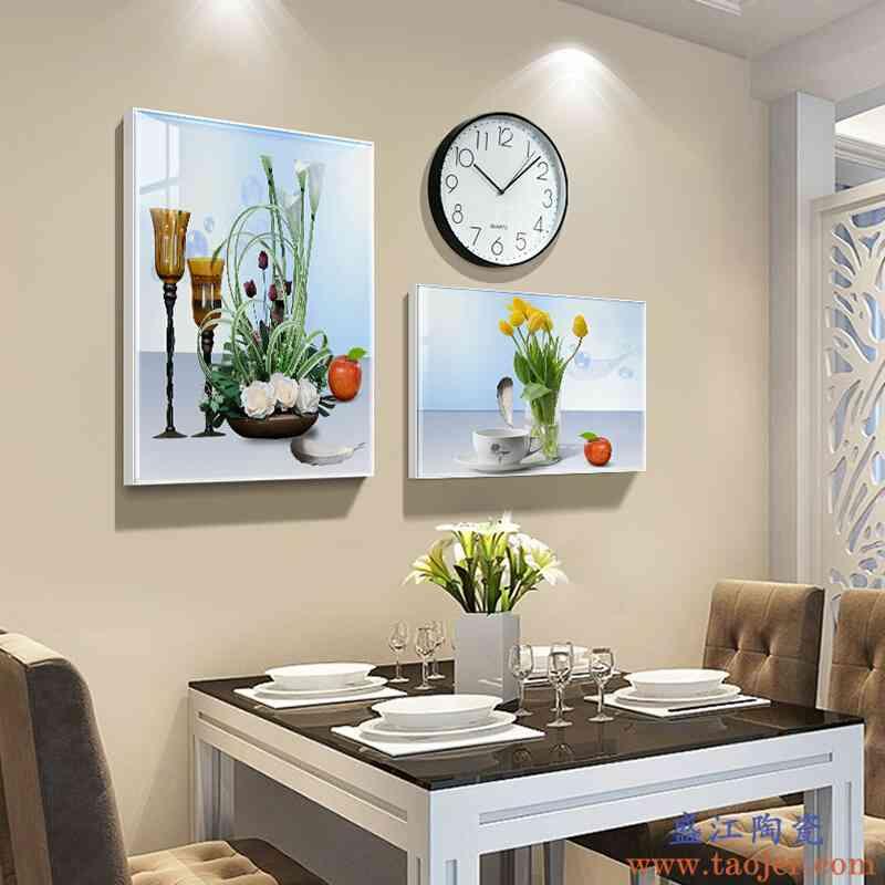 瓷恒堂客厅装饰画北欧风格沙发背景壁画现代简约卧室餐厅墙画挂画