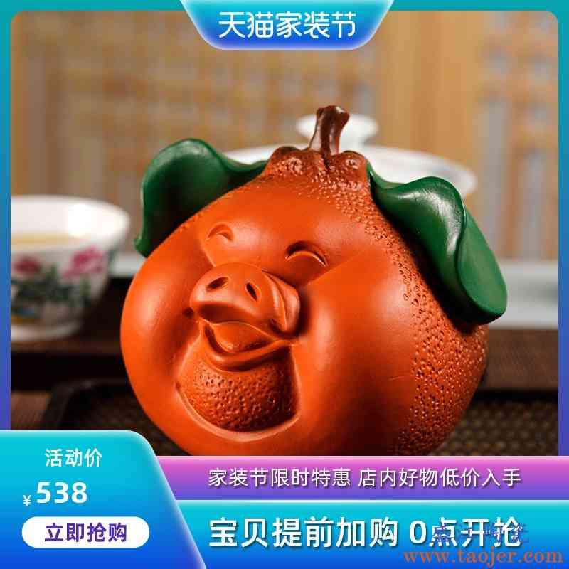 观复博物馆创意紫砂茶叶罐 家用茶叶密封罐 普洱茶储藏罐 礼盒装