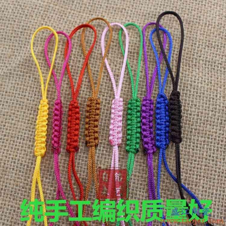 茶壶绳绑茶壶盖绳子手工编织紫砂壶绳子玻璃茶壶绳子茶壶线带绳