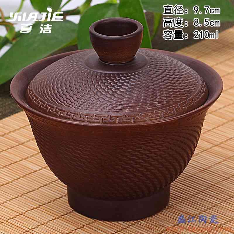 夏洁盖碗茶杯 茶碗竞技宝app苹果官方下载泡茶杯 陶瓷三才大号景德镇青花瓷带盖白瓷