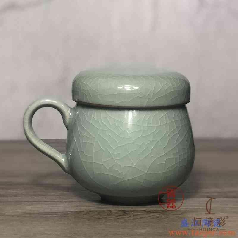 泡茶杯陶瓷杯子家用男水杯茶水分离带过滤茶漏水杯办公室马克杯女