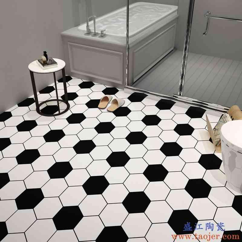 地润厨房卫生间地板贴纸防水自粘厕所防滑浴室装饰地面瓷砖地贴