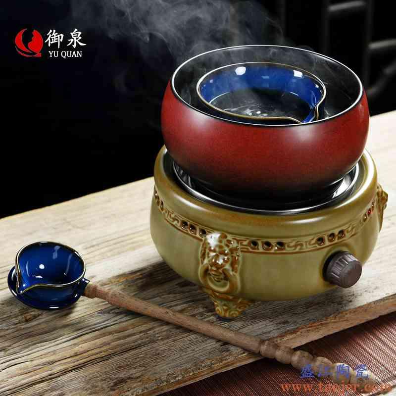 御泉煮茶炉电陶炉套装功夫茶具普洱黑茶家用陶瓷分茶器温茶器茶壶