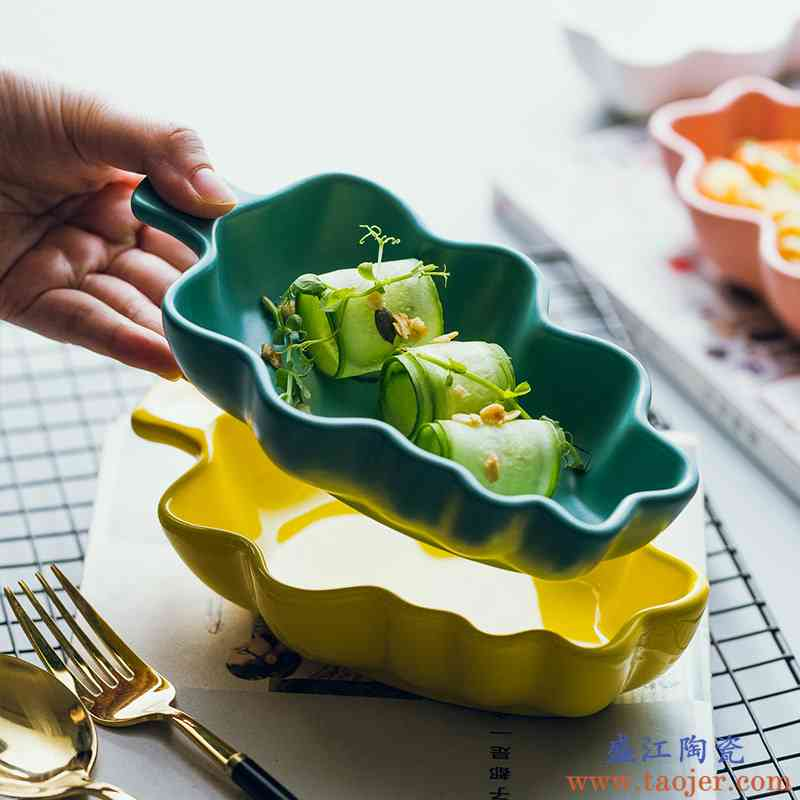 陶瓷可爱创意北欧点心焗饭碗碗烤盘早餐烘培碗碗甜品水果餐具儿童