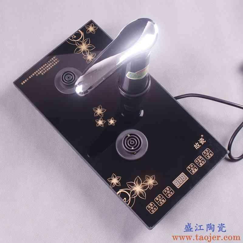 故瓷 电茶炉水壶一键全自动旋转加水烧水电器茶炉配件 金金电器