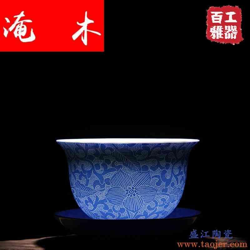 淹木景德镇陶瓷茶具扒花轧道工艺盖碗三才盖碗粉彩瓷器新品上市特
