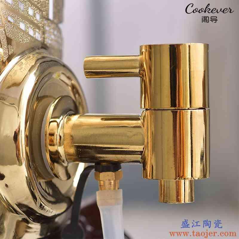 陶瓷净水缸水龙头 储水罐过滤缸龙头配件304不锈钢纯铜可抽水龙头