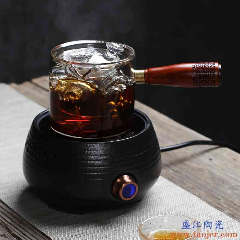 巧慕全自动陶瓷电陶炉煮茶器玻璃烧水壶黑茶白茶煮茶壶煮茶炉泡茶