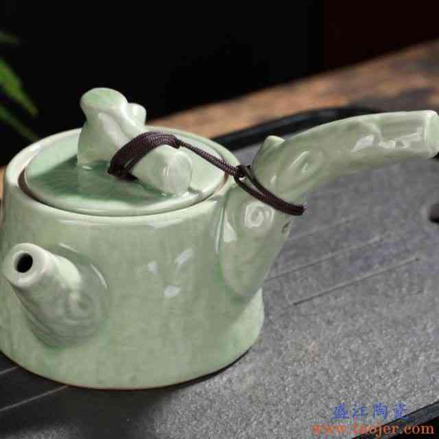 传厨手工汝窑茶壶开片大号汝瓷可养小单壶冰裂西施壶陶瓷功夫茶具