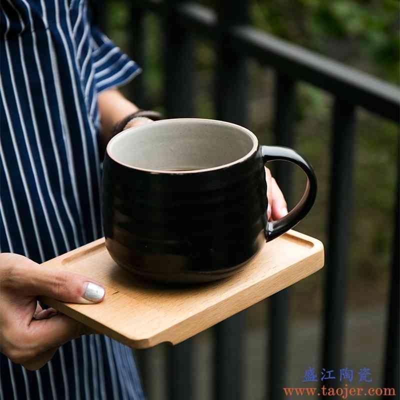 巧慕DY创意马克杯陶瓷杯子个性水杯咖啡杯陶瓷大容量杯子可爱水杯