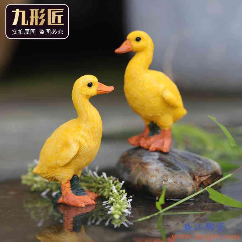 520情人节永不分梨新婚陶瓷情侣生日礼物可爱车载永不分离小摆件